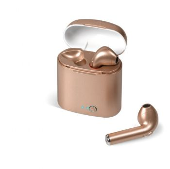 Transonic Bluetooth Earbuds - Rose Gold
